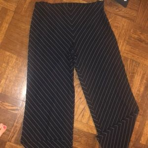 J. Crew relaxed fit black dress trousers